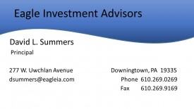 Eagle Investment Advisors